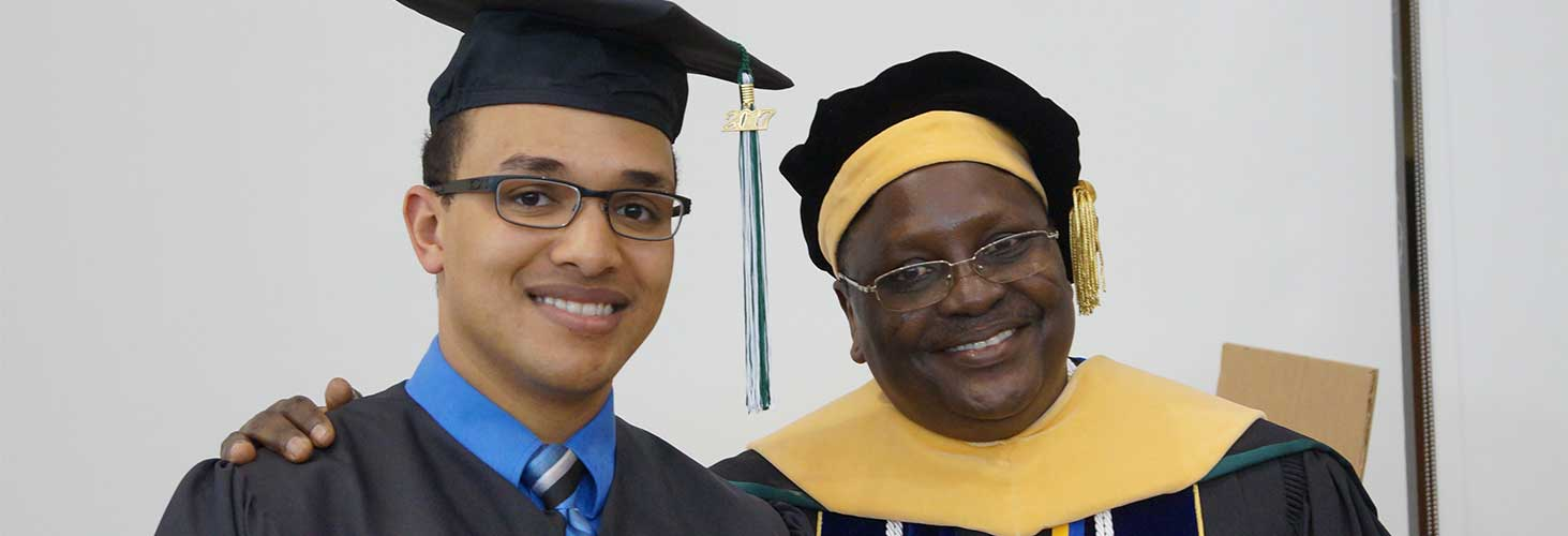 Francis Akakpo with graduate