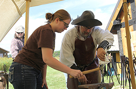 Leading and Learning: Students get hands-on history lesson