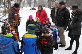 Tiny tour guides: 4K kids highlight Wildlife Sanctuary visit