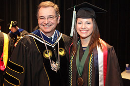 Slideshow: December '14 commencement ceremony