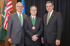 Endowed honor: Radosevich is inaugural Cofrin Chair