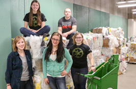 Go Green: UWGB takes lead in recycling plastics