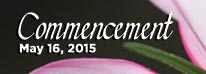 Commencement - May 16, 2015