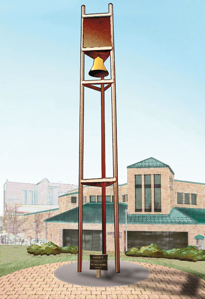 Rendering of the Weidner Memorial Carillon