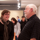 Opening Reception, Curt Heuer Retrospective, Lawton Gallery, February 4, 2010