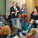 Community leaders, high school students enjoy a day at the Kress