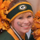 Green Bay Packers cheerleaders posed recently after a Packers pep rally in downtown Green Bay.  Students from UW-Green Bay and St. Norbert College make up the Lambeau Field spirit squads.