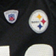 Steelers colors: A very loyal Troy Polamalu fan, a student worker on the library's eighth floor, pulled her favorite No. 43 jersey out of the closet this week to further fuel Super Bowl fever.