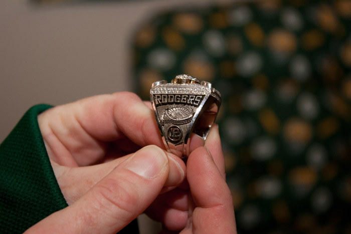 Packers Super Bowl Ring Paperweight