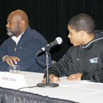 Black History Month, African Americans and sports panel discussion, February, 16, 2012