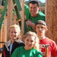 UWGB students, Habitat for Humanity Collegiate Challenge program, Abita Springs, Louisiana, January 2013