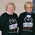 Betsy Hendrickson with other community supporters, 2003 Phuture Phoenix Field Trip Day