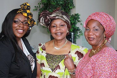 Nigerian Educators Visit UW-Green Bay, May 2013