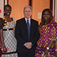 Institute for Learning Partnership welcomes Nigerian educators to campus, Spring 2014