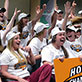 Fans salute NCAA bound Phoenix softball team, May 2014