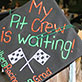 Mortarboards with a message, UW-Green Bay Commencement, Kress Events Center, May 17, 2014