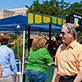 Farewell to Chancellor Harden at Get the Scoop, Student Services Plaza, July 30, 2014