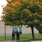 Fall colors on campus, UW-Green Bay, October 2014