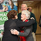 UW-Green Bay reception honors donors Dr. Herbert and Crystal Sandmire, December 9, 2014
