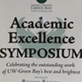14th Annual Academic Excellence Symposium, University Union, UW-Green Bay, April 7, 2015