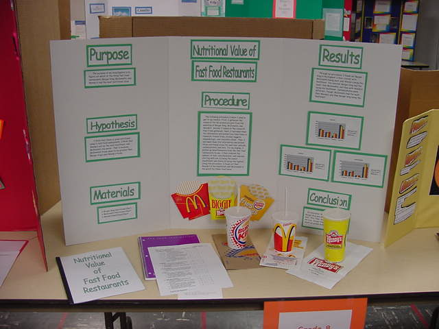 8th grade science fair projects list