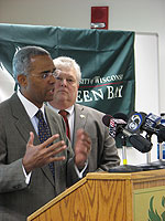 Secretary Roger Ervin Press Conference, April 10, 2008