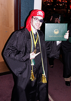 Photo: December 2006 Commencement.