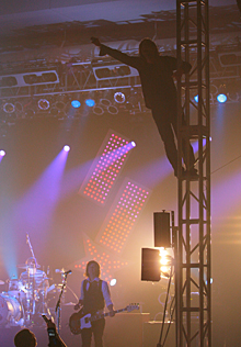 Photos from Switchfoot, Relient K and Ruth concert at Kress Events Center.