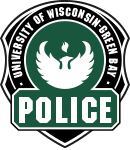 UW-Green Bay Police badge graphic