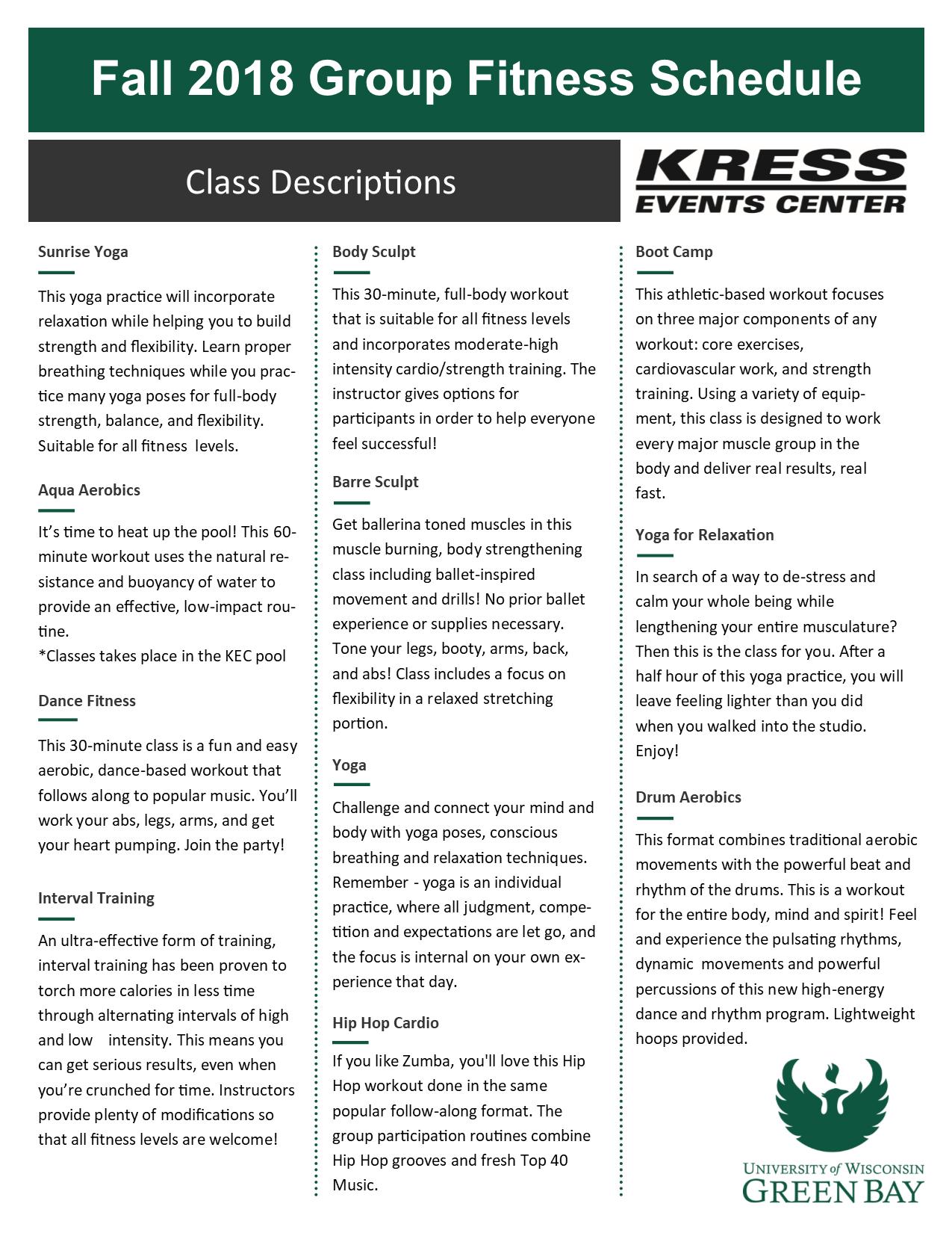 kress events center - uw-green bay