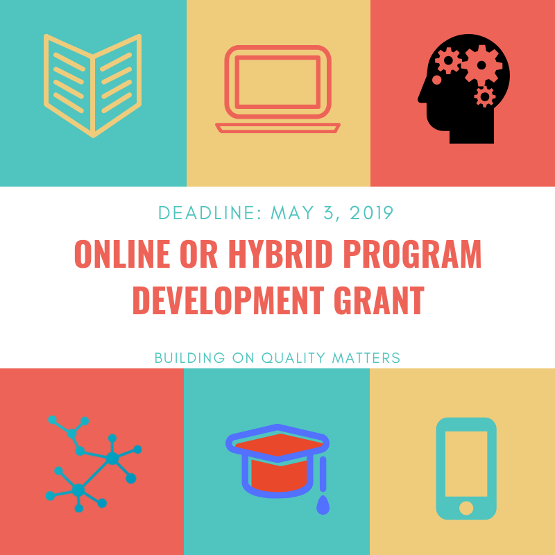 Online or Hybrid Program Development Grant