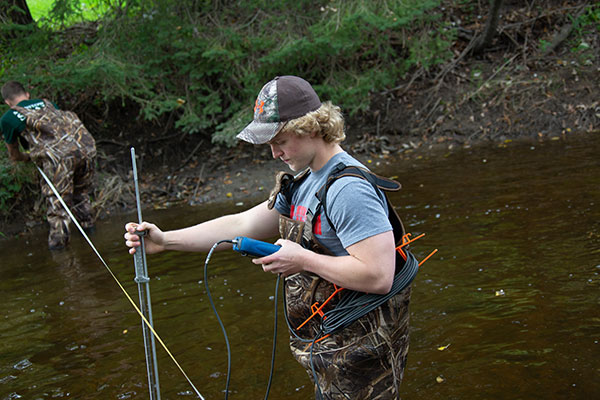 Spring 2019 field studies with the UW-Green Bay, Manitowoc Campus
