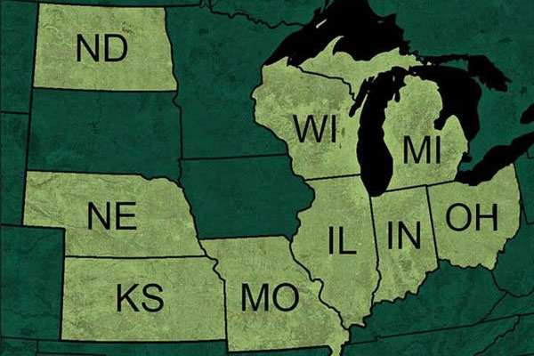 Select midwestern schools, including UWGB, are participants in the Midwest Student Exchange Program.