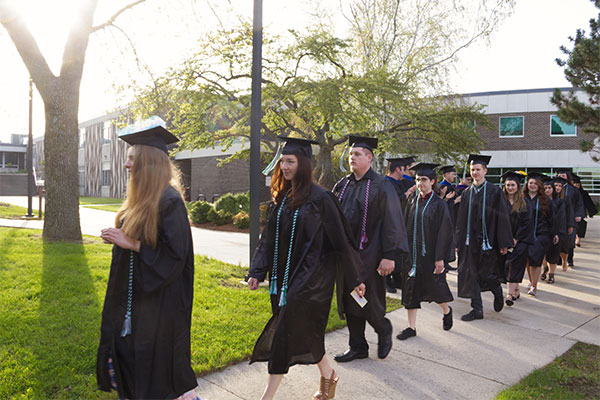 May 2019 commencement on the UW-Green Bay Sheboygan Campus