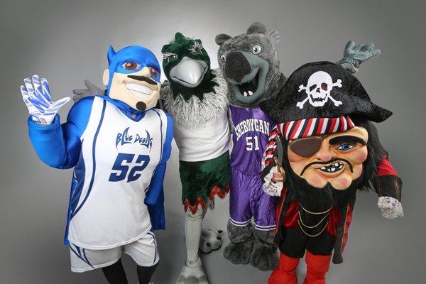 UWGB mascots