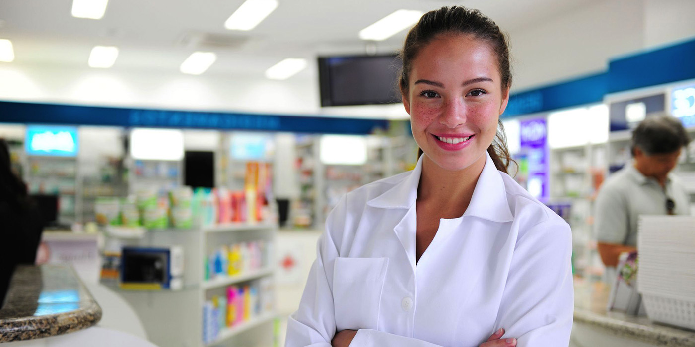 Image of student online pharmacy tech