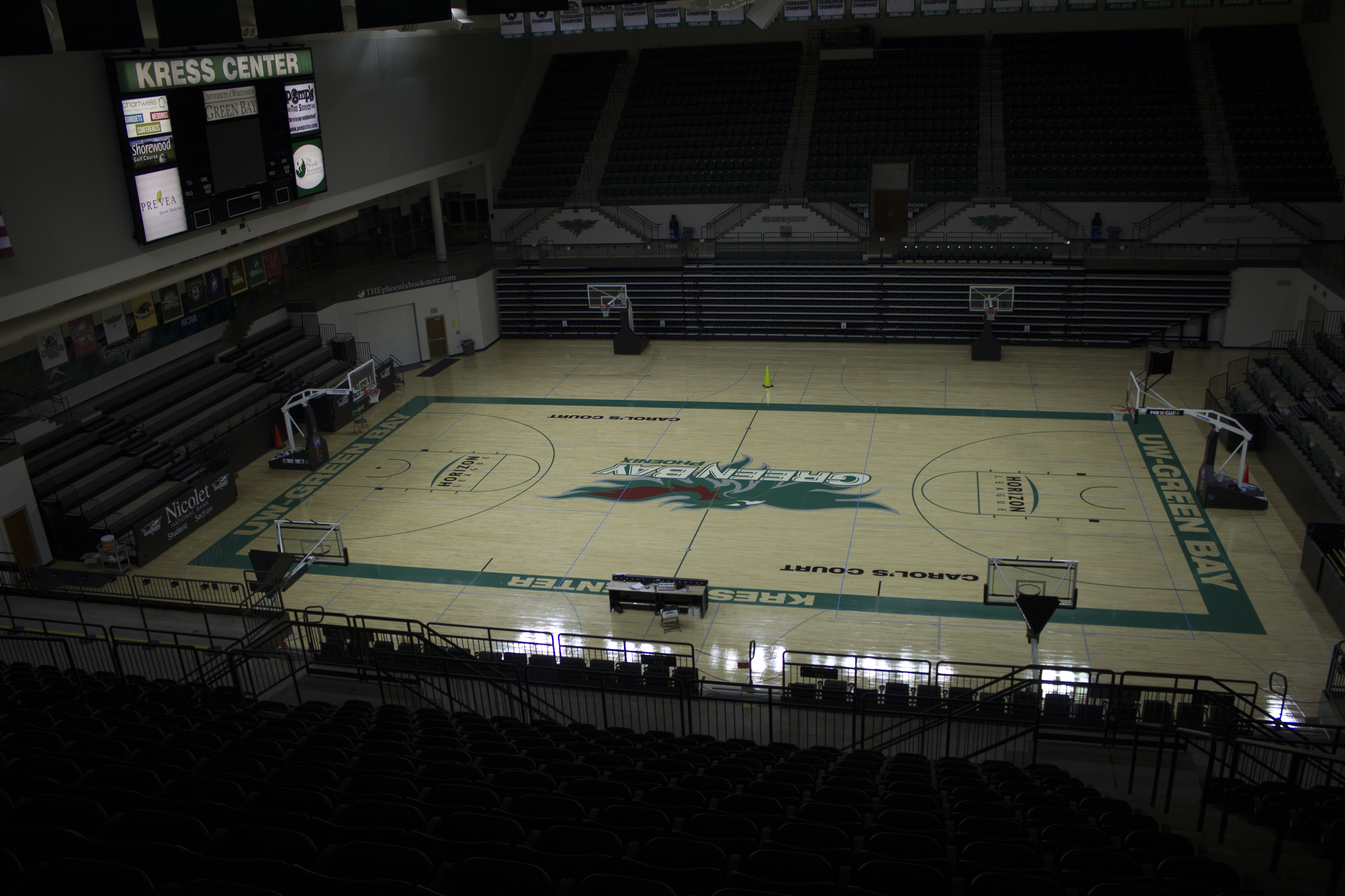 Kress Events Center Facilities Kress Events Center Uw Green Bay