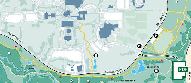 Maps UW Green Bay