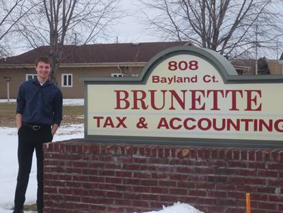 accounting and Brunette tax