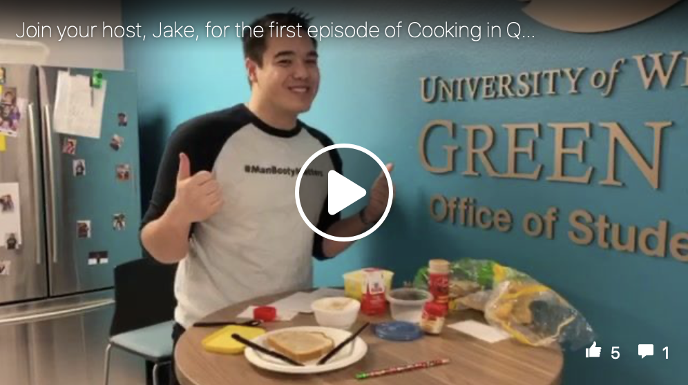 Cooking in Quarantine Episode 1