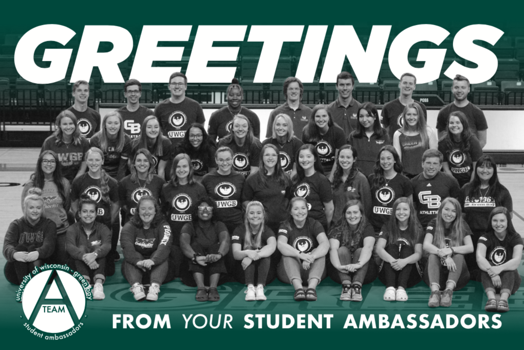 Student Ambassadors Group Picture