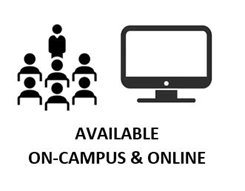 Available On-campus & online